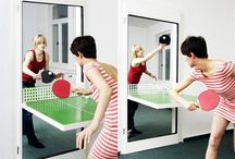 Ping Pong Door / In love with Ping Pong! If yes, then this is an ideal interior door design idea. / by Home Interiors Zone