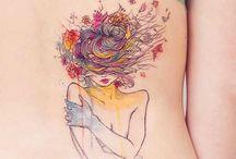 Tatuagens em aquarela