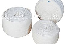 Fracture Aids  / GPC Medical Ltd. - Exporter, Manufacturers & Supplier of Fracture aids from India. We offer these fracture aids in standard design & size as per international standards. Visit us online for adjustable pouch arm sling, crepe bandage, cast shoes, hyper extension brace (ash brace) & Send us your requirement.