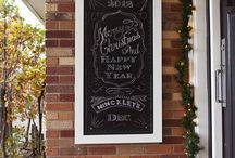 chalkboards. / by Whitney McRae
