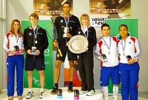 Proud Dad / My youngest son Tom, who is a world class squash player, and future world champion.