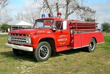 120-1960's Fire Truck / by Jackie Glynn