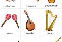 Hudebka - nástroje
