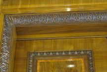 Hyatt Park Hotel, Vienna - historic reconstruction / We make architectural wood ornaments with the use of cnc machines for interior design and historic woodworking.