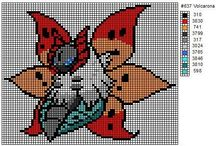 Cross stitch / Pokemon and geeky cross stitch