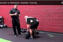 """Metabolic Stability Series / """"Metabolic Stability"""" is a system of developing progressive movements by Strength Coaches, Josh Henkin and Troy Anderson. A new exercise every month! / by Perform Better"""