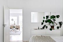 Hvide soveværelser