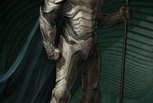 Manga armors