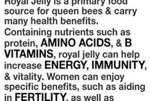 Royal jelly (assist in healthy vit)