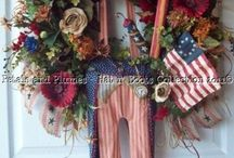 Wreaths! / by Angie Clover