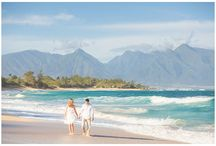 Maui Couples Portraits / Maui couples portrait by Karma Hill Photography in Maui, Hawaii.