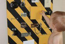 Kids busy board