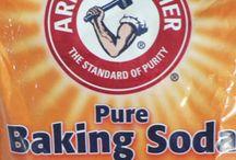 Baking soda cleaning