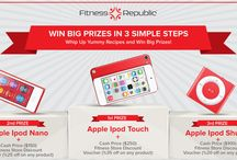 FR Contests / Be Smart & Win Big Prizes!! / by Fitness Republic