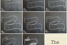 Chalkboards ideas