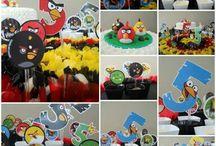 Angry Birds - 4 anos - Party / Festa do Angry Birds