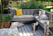 bakgård/veranda