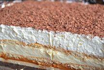 inšpirácie na recepty, koláče, obedové misy, ...