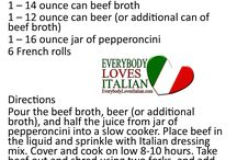 Italian Recipes / Good Italian Foods