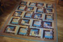 Patchwork / Lapptäcken Quilts