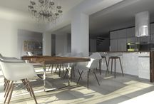 selection of kitchen design / výber z mojich návrhov