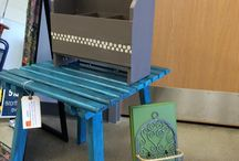 Upcycling- items made by the people we serve
