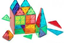 Magna Tiles / Magna-Tiles® Clear Colors 100 Piece Set is back in stock!