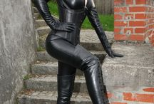 Leather and Latex Fashion