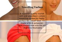 Towelling Turbans, Caps for Chemotherapy patients - Cancer caps - Caps for Cancer Patients / A lovely, soft and absorbent terry cloth towel turban by fashy, perfect for casual wear. It's made of 65% polyester, 35% Cotton One size fits all - Machine Washable