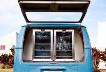Kombi Coffee Mobile Catering Food Van Truck