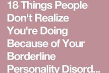 Border Line Personality Disorder