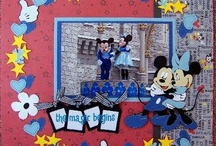 Scrapbook Page Layouts DISNEY