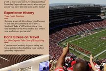 San Francisco 49ers Gameday Tips! / With Levi's Stadium being in its first year, traveling to a 49ers game can be a bit stressful! Skip the struggles and let a Fandeavor Gameday Expert handle your trip. Check out some of our best tips and advice for an amazing weekend of 49ers football!