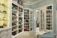 closets modeled on retail display / by Jennifer Burns