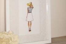 Fashion illustrations for B