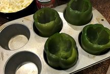 Stuffed Green Peppers / by Kristina Arocena