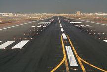 A black strip is a takeoff