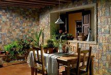 Salas - Design de interiores / Sala de estar, sala de jantar e escritório.
