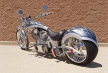Harley Davidsons