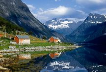 Norway / Home of my ancestors. / by Anita Roll Decorative Artist