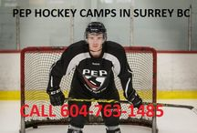 PEP Hockey Camps in Surrey BC