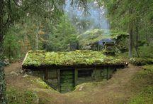 Casas en el monte