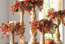 Fall & Holiday Candle Display Ideas / Inspiring merchandising ideas using candles for tabletops, mandles, and centerpieces for the fall & holiday season