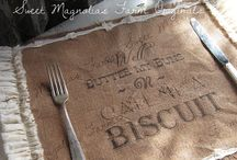 Burlap and Lace / by Kay McDaniel