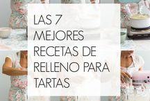 7 RELLENOS DE TARTAS