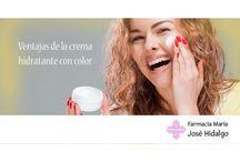 Farmacia María José Hidalgo / Consejos y productos de la farmacia María José Hidalgo sobre salud, cosmética, belleza, adelgazamiento, nutrición...  http://farmaciamariajosehidalgo.com/