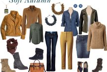 Autunno soft colori outfit