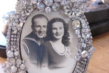 Bejewelled photo Frames