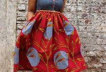 My big African fashion ladies