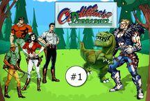 Cadillacs and Dinosaurs / Cadillacs and Dinosaurs é um jogo de beat 'em up para arcade lançado em 1993 pela Capcom e baseado nos quadrinhos Xenozoic Tales de Mark Schultz.